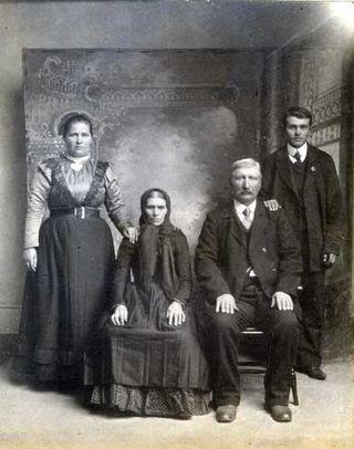 Grandma Mauter and husband and Grandma and Grandpa Fiel